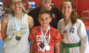 Alumnos del Polideportivo Municipal participaron de un torneo promocional de Taekwondo