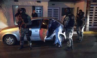 ZONA RURAL LA FRANCIA:  ALLANAMIENTO POSITIVO CON DETENCIÓN Y SECUESTRO