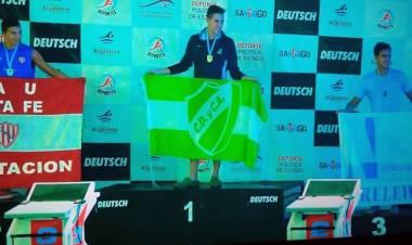 Arroyitense campeón Nacional el Natación