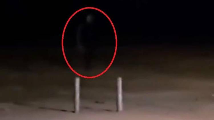 De la nada, un hombre desaparece de un video