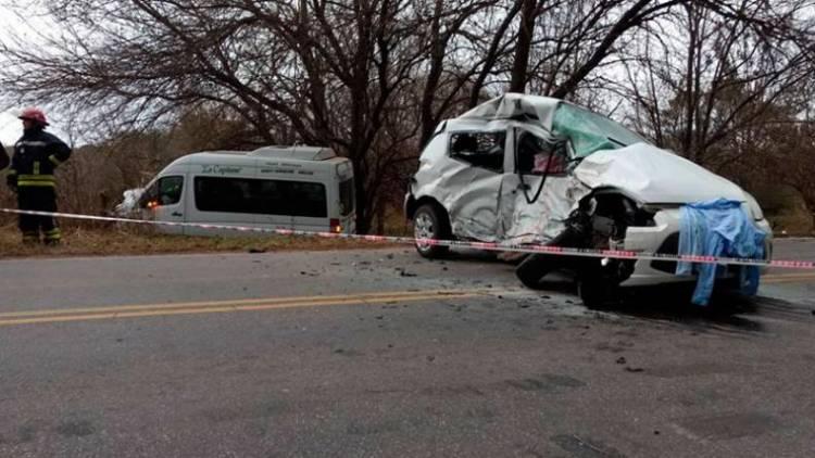 Terrible accidente en Embalse: murió una joven de 28 años