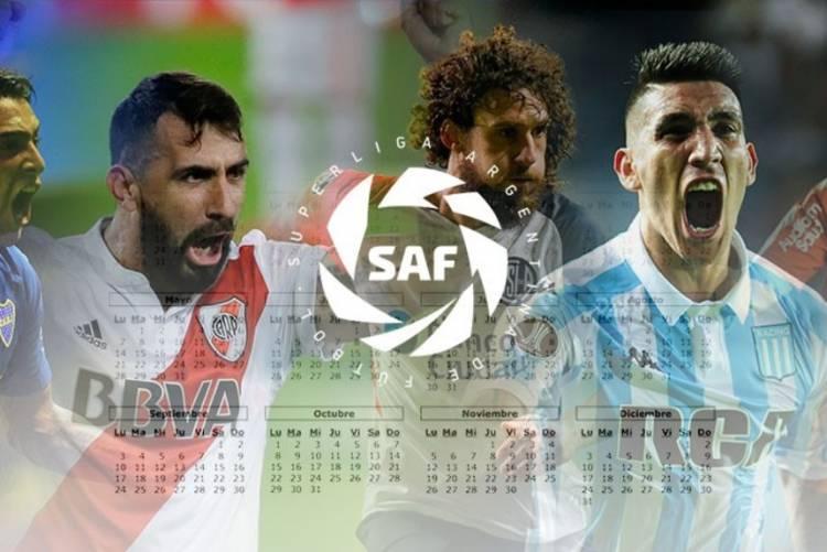 Para Agendar ! el fixture de la Superliga