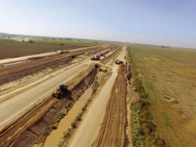 Más de 200 despedidos y obra paralizada en la autopista 19