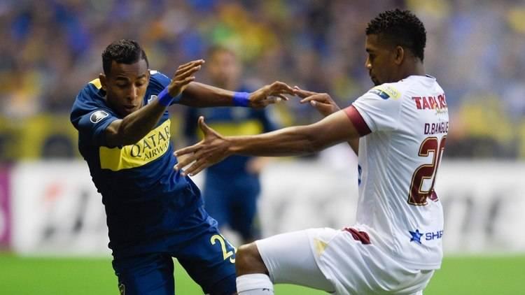 Boca goleó a Deportes Tolima y lidera el Grupo G de la Copa Libertadores