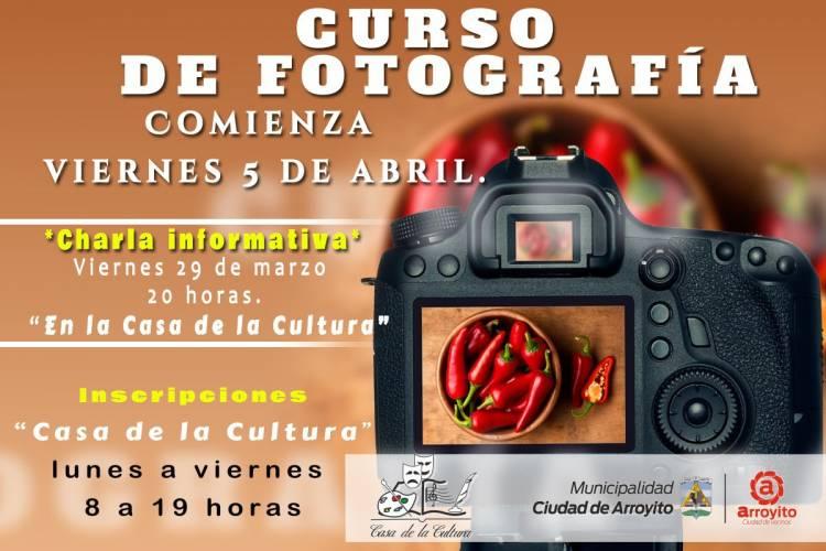 En abril comienza el Curso de Fotografía