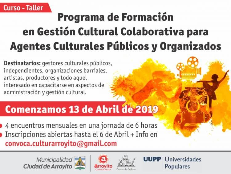 Curso-taller  de Formación en Gestión Cultural Colaborativa